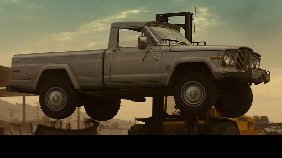 סתבא בדרך לגריסה - JEEP פורטת על מיתרי לב האמריקאים בפרסומת חדשה של ג'יפ גלדיאטור. צילום: JEEP