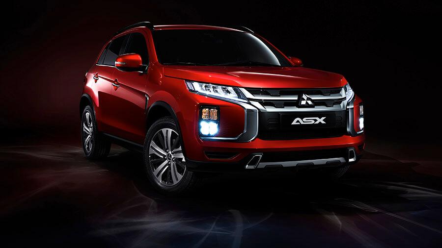 מיצובישי ASX חדש - עם מערכות בטיחות מקוריות ומראה רענן ומקורי. צילום: מיצובישי