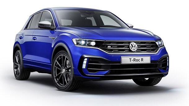 """הנה גרסת """"R"""" של פולקסווגן TROC שאותו לא תראו בישראל. צילום: VW"""