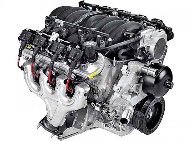 הנה LS1 של GM - אולי אחד הדברים היפים יותר שיצאו מדטרויט. צילום: GM