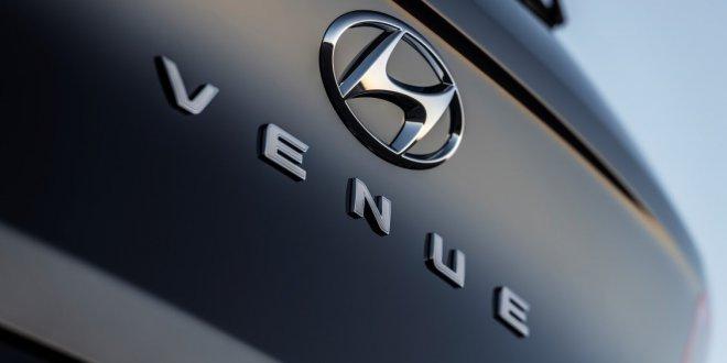 טיזר של יונדאי VENUE - רכב פנאי קטן שישתלב מתחת ליונדאי KONA. יגיע שווקים ב-2020. צילום: יונדאי