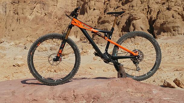 מבחן אופניים ktm prowler sonic צילום: רוני נאק