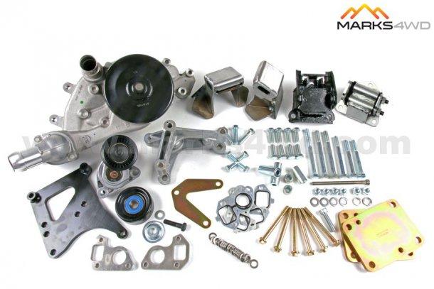 זו ערכת החלקים של MARKS מאוסטרליה המכילה תושבות מנוע ועוד מתאמים בשביל...צילום: MARKS