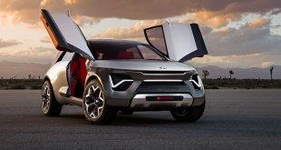 """קיה הבאנירו - על שם הפלפל החריף וקונספט של רכב פנאי ספורטיבי ברוחו עם הנעה חשמלית וטווח של מעל 400 ק""""מ. צילום: קיה"""