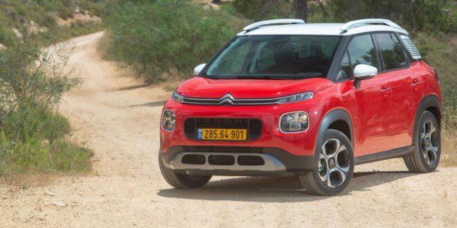 """קבוצת PSA ניצבת בסוף 2018 כיצרנית הרכב האירופאית הרווחית ביותר. בצילום סיטרואן C3 איירקרוס צילום: יח""""צ"""