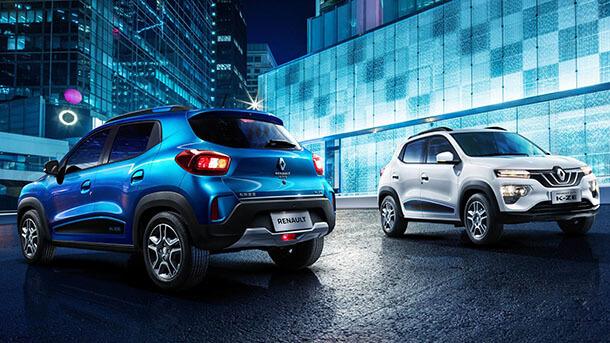רנו K-ZE - רכב פנאי חשמלי קטן - קבוצה A - בתחילה לסין ומשם לשאר העולם. טעינה מלאה ב-50 דקות וככל הנראה יחידת הנעה של רנו זואי. צילום: רנו