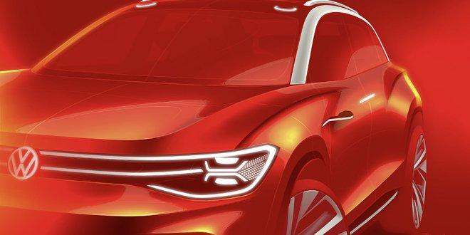 רכב התצוגה ROOMZZ - ממשפחת ID החשמלית של VW מציג רכב פנאי גדול - אולי עם 7 מושבים - בעל הנעה חשמלית ויכולת כמעט אוטונומית. צילום: VW