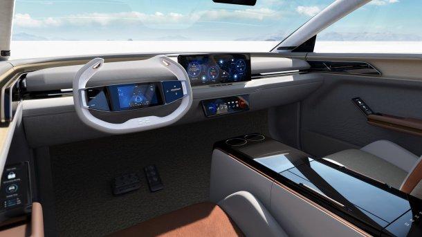 הנה AIWAYS U7 ION - סינית חדשה עם טווח של 500 קילומטרים - באמת? נחיה ונראה. צילום: aiways