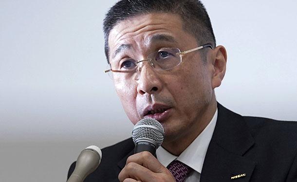 """המנכ""""ל החדש סאיקוואה מוביל את המהלך וממש לא סופר את רנו שמחזיקה 43% ממניות ניסאן. צילום: ניסאן"""