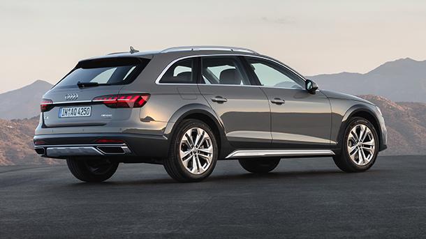 """Audi A4 allroad quattro - כמו זה (דור חדש עם בסיס גלגלים של 281 ס""""מ) רק בלי תג המחיר. צילום: אאודי"""