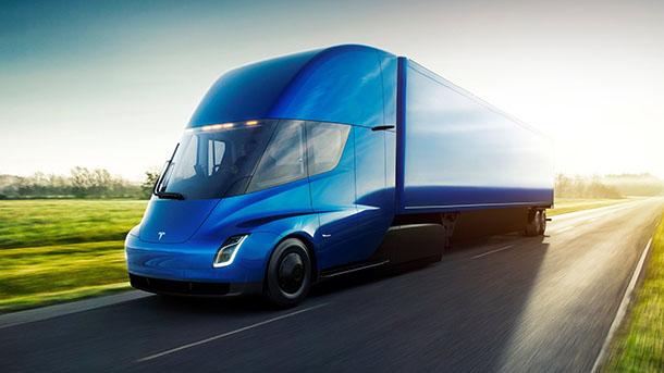 המשאית החשמלית של טסלה. דממת אלחוט מדאיגה. לקוחות יבקשו את המקדמות בחזרה. צילום: טסלה