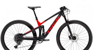 אופני TREK TOP FUEL מדגמי 2020. עם שלדה חדשה, מהלך מתלה ארוך יותר ומנעד שימושים רחב יותר. צילום: TREK