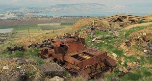 פנצר 4 שנבנה על ידי הנאצים והופעל בידי הצבא הסורי מעל לכנרת. צילום: DimaWa