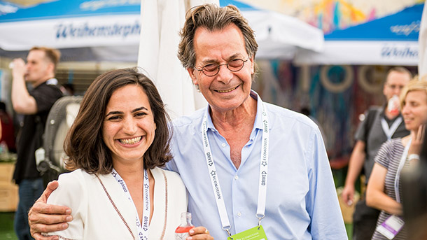 מאיר ארנון ואורלי דהן. צילום: אסף קליגר