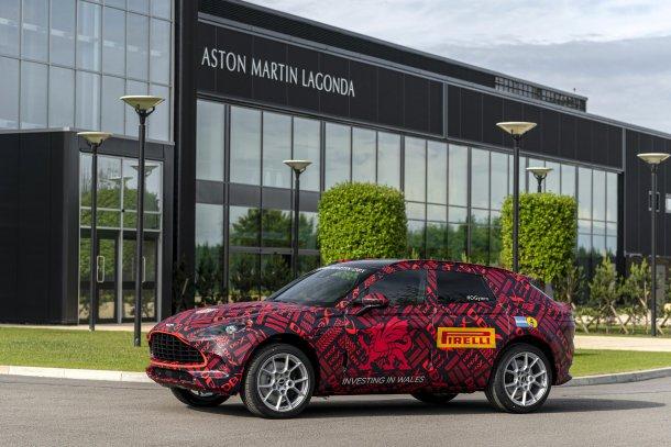 אסטון מרטין חונכת מפעל חדש בווילס על רקע אי הוודאות של ברקזיט. צילום: אסטון מרטין