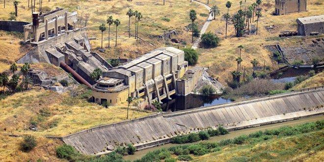 מפעל החשמל של רוטנברג בנהריים. פרוייקט קלאסי של אגירת חשמל - שלצערנו לא פעיל כבר שנים רבות. צילום: WIKI