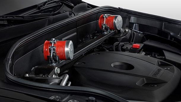 Volvo XC90 Armoured - וולוו מציגה גרסה ממוגנת ירי ומטענים של וולוו XC90 לא היברידי. המשקל 4.5 טונות המחיר קרוב ל-200 אלף אירו. צילום: וולוו