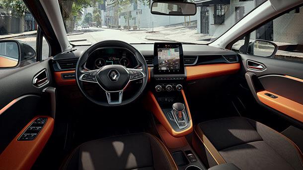 רנו קפצ'ור החדש - גם היברידי, גם מקושר וגם עם מערכות בטיחות אקטיביות מקוריות. צילום: רנו