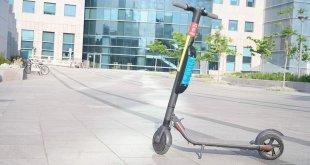 פיילוט בשיתוף עיריית תל אביב ו-WIND לבחינת אפליקציית ניווט שתגדיר איזורי חניה ווירטואליים לקורקינטים חשמליים בעיר. צילום: אלי כרמי