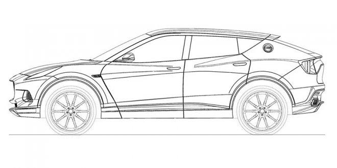 בקנה: SUV שרירים גדול של לוטוס. על פלטפורמה של וולוו ועם פורשה על הכוונת. צילום: לוטוס