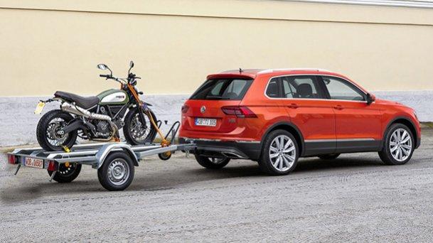 """פולקסווגן טיגואן מקבל מנוע 1.5ל' חדש וחבילת אבזור משופרת. המחיר 195 אש""""ח. צילום: VW"""