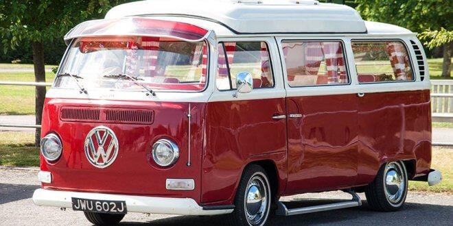 קמפרים של VW מכל הדורות ינדדו למפגש היסטורי ב-9 לאוגוסט בבריטניה. צילום: VW