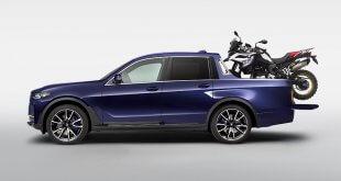 רק טנדר אחד נוצר במיוחד למפגש האופנועים השנתי של ב.מ.וו. ב.מ.וו X7 קפד זנבו. צילום: BMW