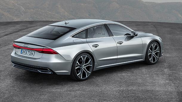 Audi A7 Sportback - אחת ממכוניות המנהלים הנאות יותר שיש על הכביש. צילום: אאודי