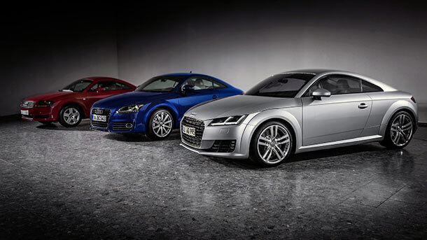 Audi TT - אחת ההצלחות הגדולות של דיאז ושל אאודי. צילום: אאודי