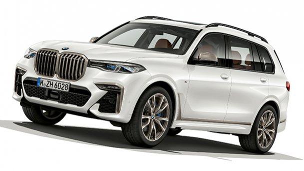 אלפינה לוקחת ב.מ.וו X7 הכי חזק ואז מגבירה. צילום: BMW
