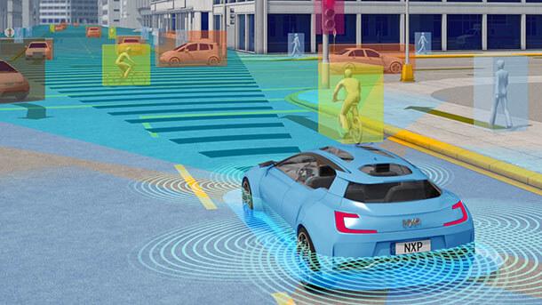 עיבוד בזמן אמת של מידע ממערך חיישנים ותקשורת נרחב הוא מעבר לכוח החישוב שיש היום במחשבי הרכב. צילום: NXP