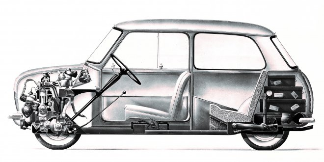 60 שנים ל-MINI. פעם רכב נגיש ועליז למשפחה היום סמל סטטוס לעשירים. צילום: MINI