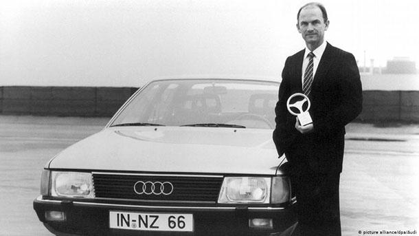 פיך פיתח בסתר את אאודי 100 האירודינמית - חשש מהדלפה למתחרים. צילום: VW
