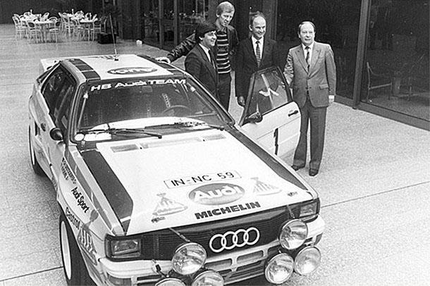 כאן עם אאודי קווטארו שפתחה את הדרך לעקוף את מרצדס בקבוצת הפרימיום. צילום: VW