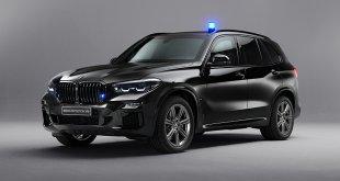 """לא רואה קלאצ' ממטר. ב.מ.וו X5 ממוגן ירי ומטענים עם 5.9 שניות ל-100 קמ""""ש. צילום: BMW"""