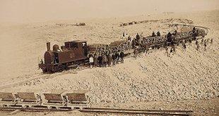 הרכבת החיג'אזית בבניה - פנטזיה שתחזור לפעול מתישהו. צילום:SERGI