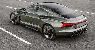 Audi e-tron GT concept - עם קבינה וריפודים טבעוניים. טרנד, קריצה או מהלך אמיתי? צילום: אאודי
