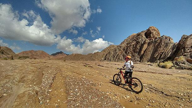 קחו אופניים למדבר - זו תהיה חוויה בקנה מידה אחר לגמרי. צילום: רוני נאק