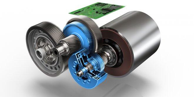 זה מה שמרגש אותנו. יחידת הנעה חשמלית עם שני הילוכים שנותנת יותר חיסכון וביצועים. צילום: ZF