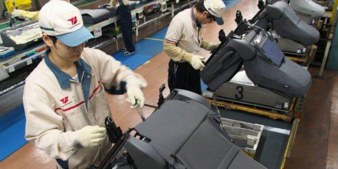 חברת בת של טויוטה המספקת מושבים, דיפונים ומסנני אוויר לתעשיית הרכב נעקצה ב-37 וחצי מליון דולרים. צילום: טויוטה