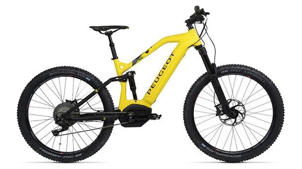 אופני הרים שטח חשמליים פיג'ו