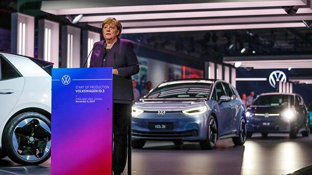 אנגלה מרקל VW