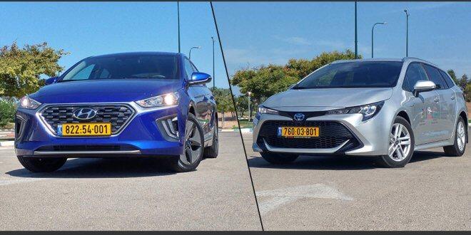 מכוניות חשמליות במבחן יונדאי טויוטה